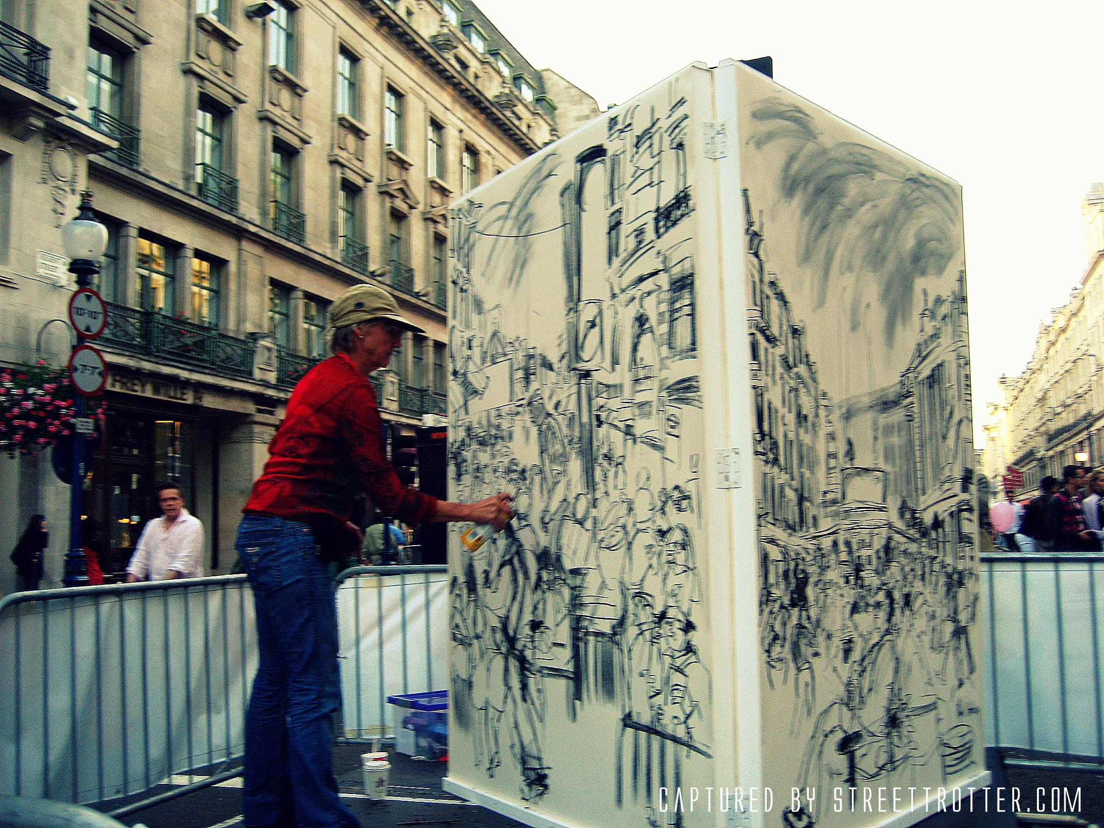 street artist - busking - street strotter