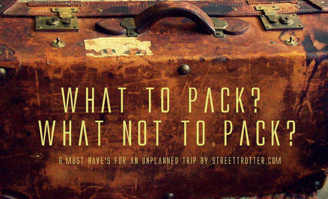 travel essentials - streettrotter.com
