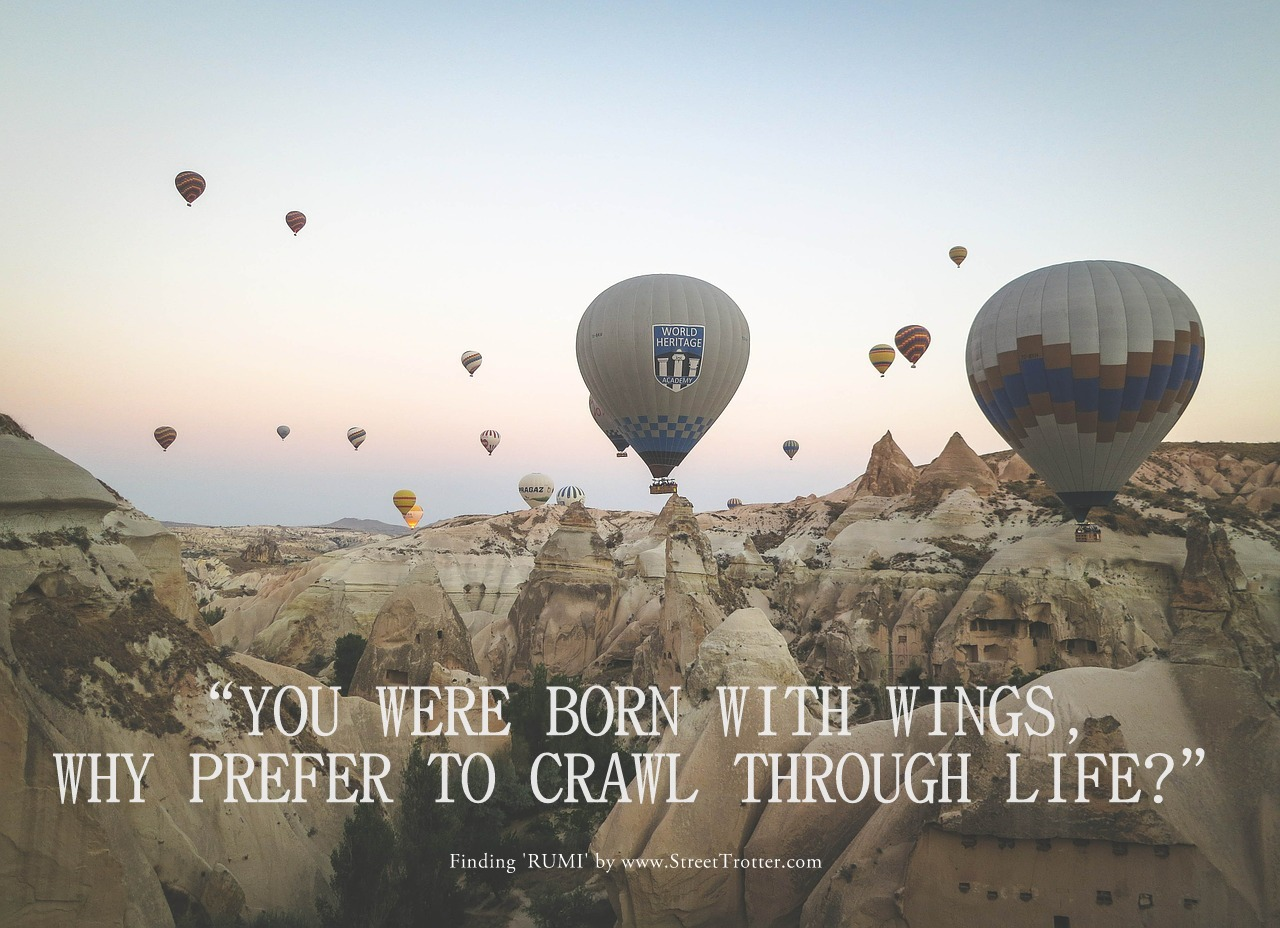 RUMI QUOTE - STREETTROTTER - TRAVEL QUOTE 2