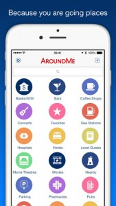 3. AroundMe apps - streettrotter