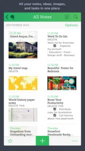5. Evernote apps - streettrotter