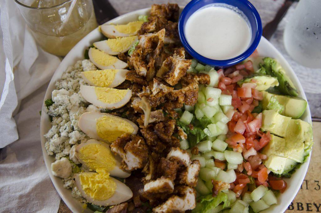 Cobb Salad with Hot Chicken at Party Fowl (Photo by: Nikita Sampath)