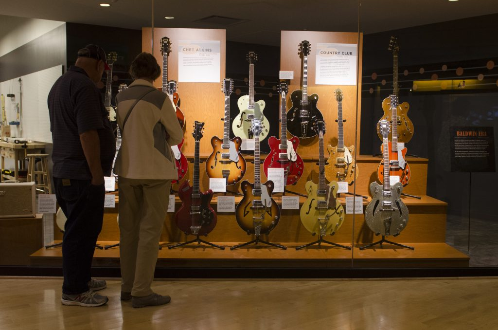 Country Music Hall of Fame. (Photo by: Nikita Sampath)
