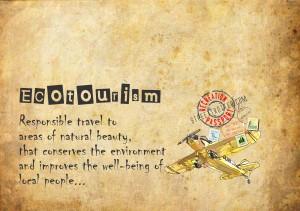 ecotourism - travel words - travel vocabulary