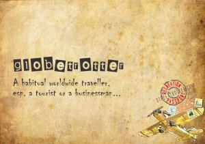 globetrotter - travel words - travel vocabulary