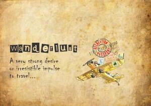 wanderlust - travel words - travel vocabulary