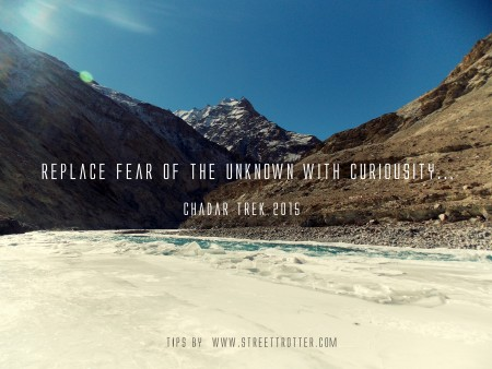 travel quote for chadar trek