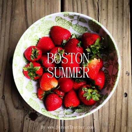 Boston in summer season