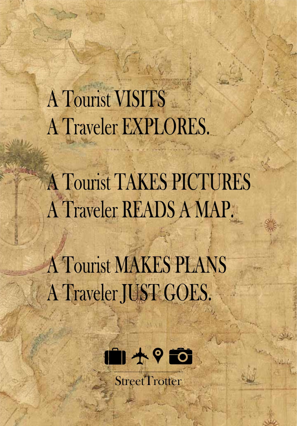 STREETTROTTER - TRAVELER QUOTES