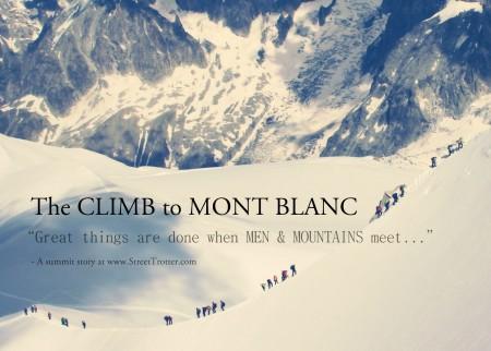 Mont Blanc summit - streettrotter