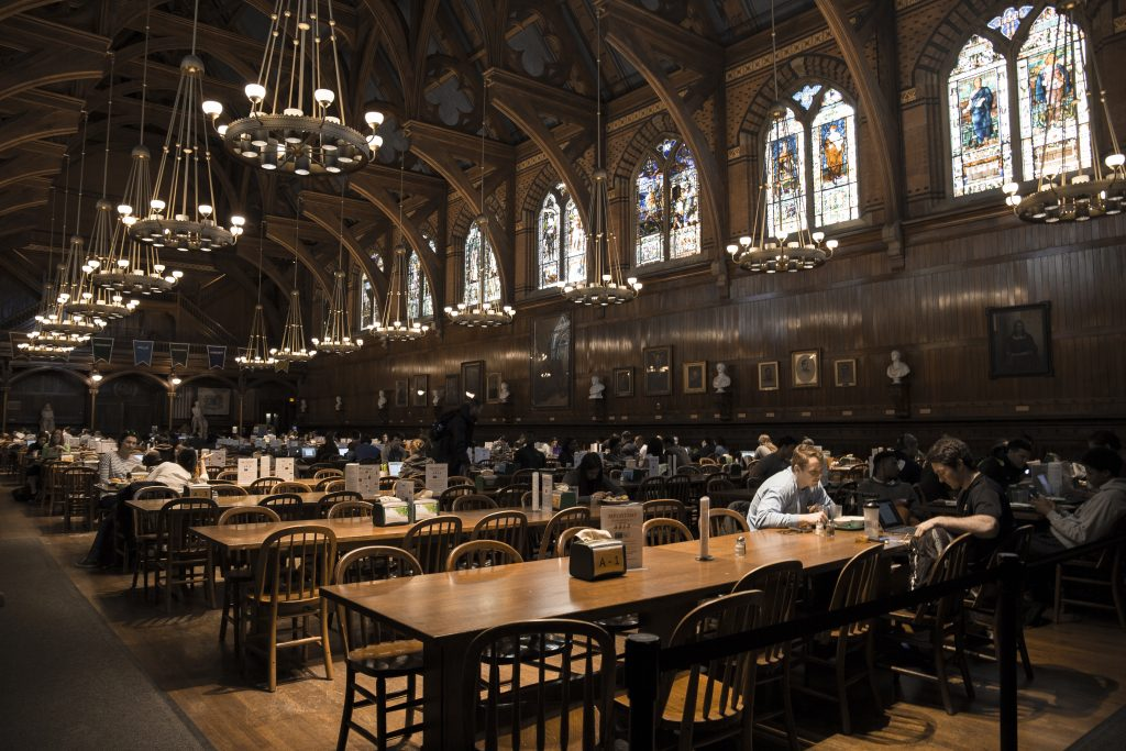 Inside harvard the inaccessible dining halls part i for U of t dining hall