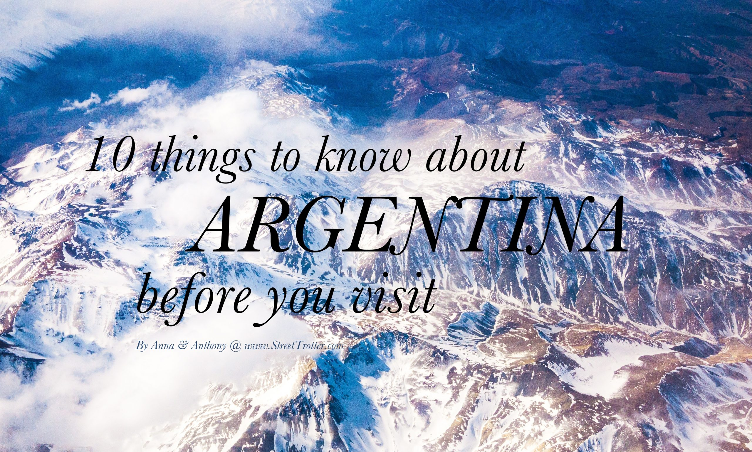 Argentina-things to know