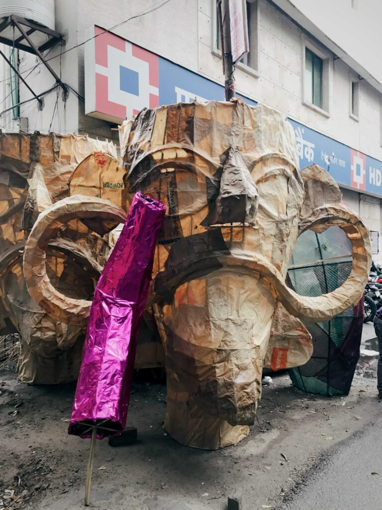 Tatarpur-ravan effigy-streettrotter